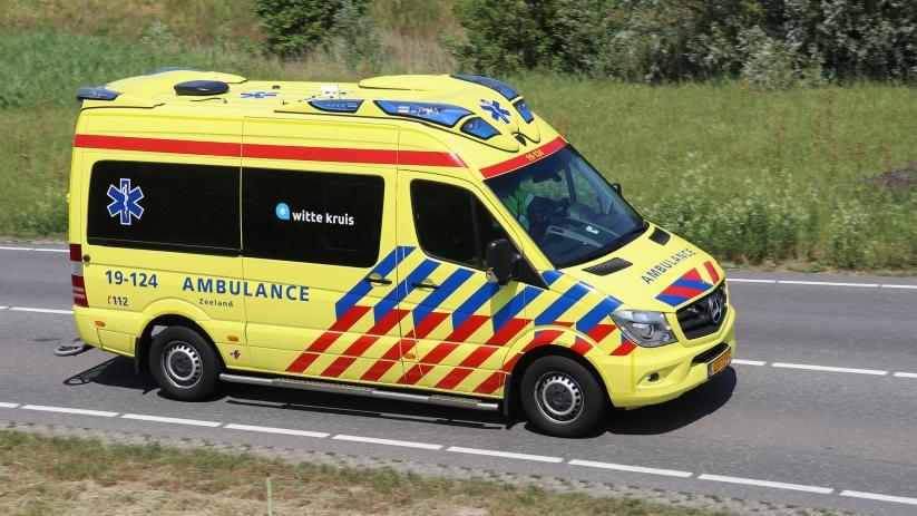 Motorcrosser gewond bij ongeluk in Rilland.