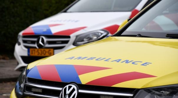 Twee gewonden bij ongeluk centrum Hulst.