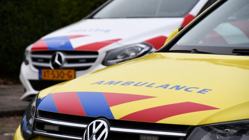 Bestuurder scootmobiel gewond bij botsing Vlissingen.