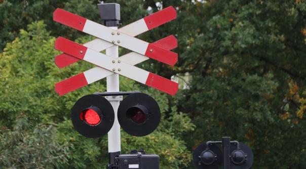 Treinverkeer stil na aanrijding op spoor station Goes.