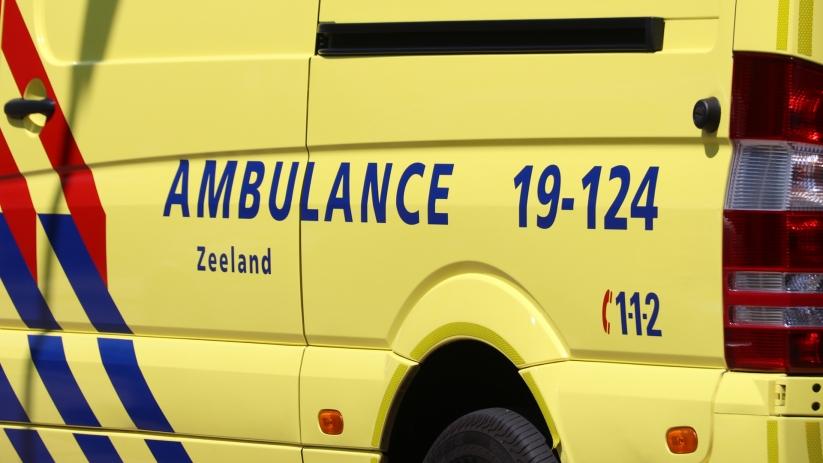Fietsster gewond bij aanrijding in Vlissingen.