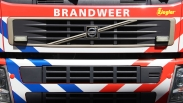Felle autobrand langs Europalaan in Goes