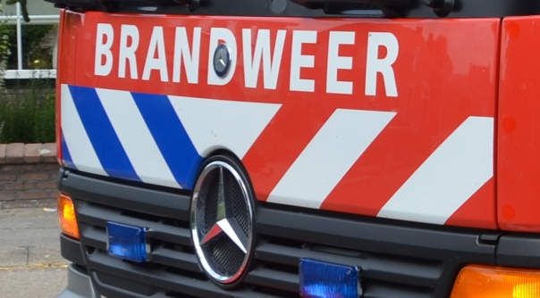 Brand in woning Renesse door olielamp