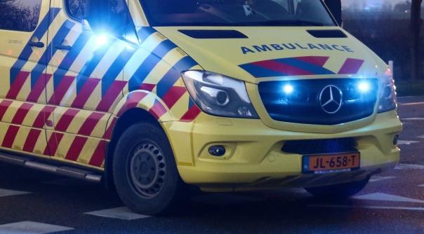 Fietser gewond bij botsing met auto Terneuzen.
