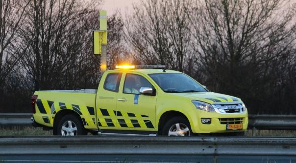 Schade bij verkeersongeluk A58 Rilland.