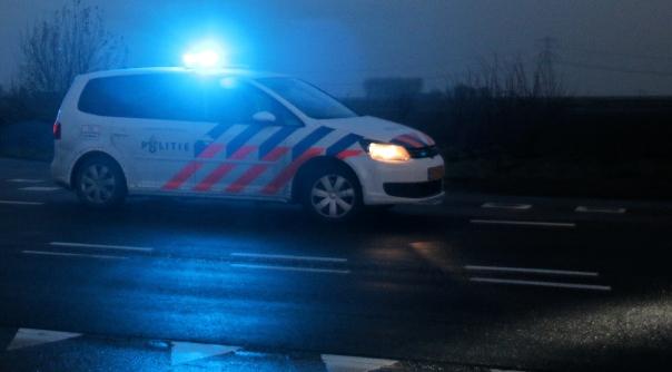 Ongeluk met meerdere auto's op A58.