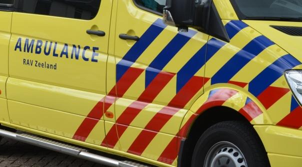 Meisje gewond bij botsing met fietser Tholen.