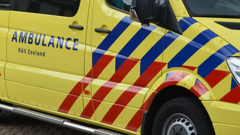 Gewonde bij ongeluk op N59 bij Zierikzee.