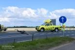 Ongeval met fietser N59 Nieuwerkerk.