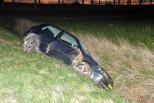 Gewonde bestuurder verlaat plaats ongeval Hoek.