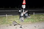 Auto reed door na ernstig ongeluk N59 Oosterland.