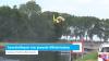 Traumahelikopter voor gewonde Wilhelminadorp