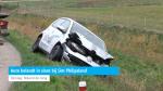 Auto belandt in sloot bij Sint Philipsland