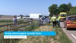 Ernstig verkeersongeluk op Kadijk Tholen