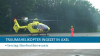 Traumaheli ingezet in Axel