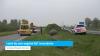 Letsel bij auto-ongeluk N57 Serooskerke