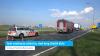 Tank vrachtauto schiet los, deel brug Sluiskil dicht