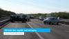 A58 dicht door ongeluk, veel vertraging