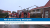 Felle brand in woning Westkapelle