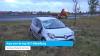 Auto over de kop N57 Middelburg
