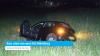 Auto schiet van oprit A58 Middelburg