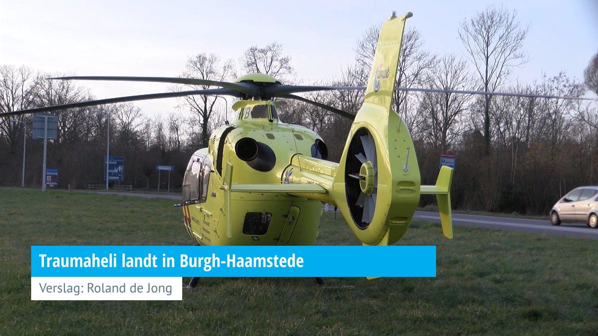 226c3b26175 Traumaheli landt in Burgh-Haamstede - HVZeeland - Nieuws en achtergronden  rond veiligheid en hulpverlening in de provincie Zeeland