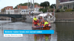 Kinderen maken kennis met varend redden