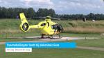 Traumahelikopter landt bij ziekenhuis Goes