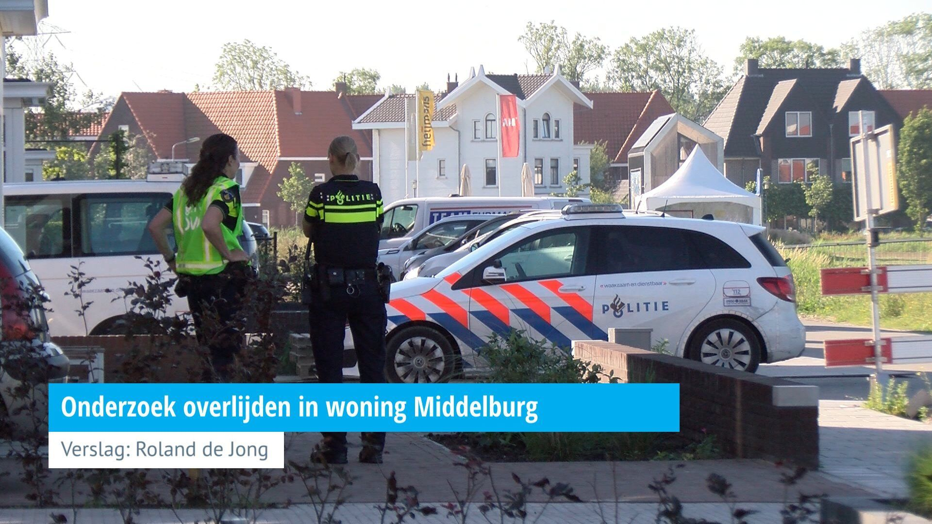 Onderzoek overlijden in woning Middelburg - HVZeeland