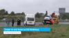 Camper en auto botsen op A58 Middelburg