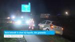 Auto belandt in sloot bij Kapelle, één gewonde