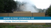Brand in pand voormalig AZC