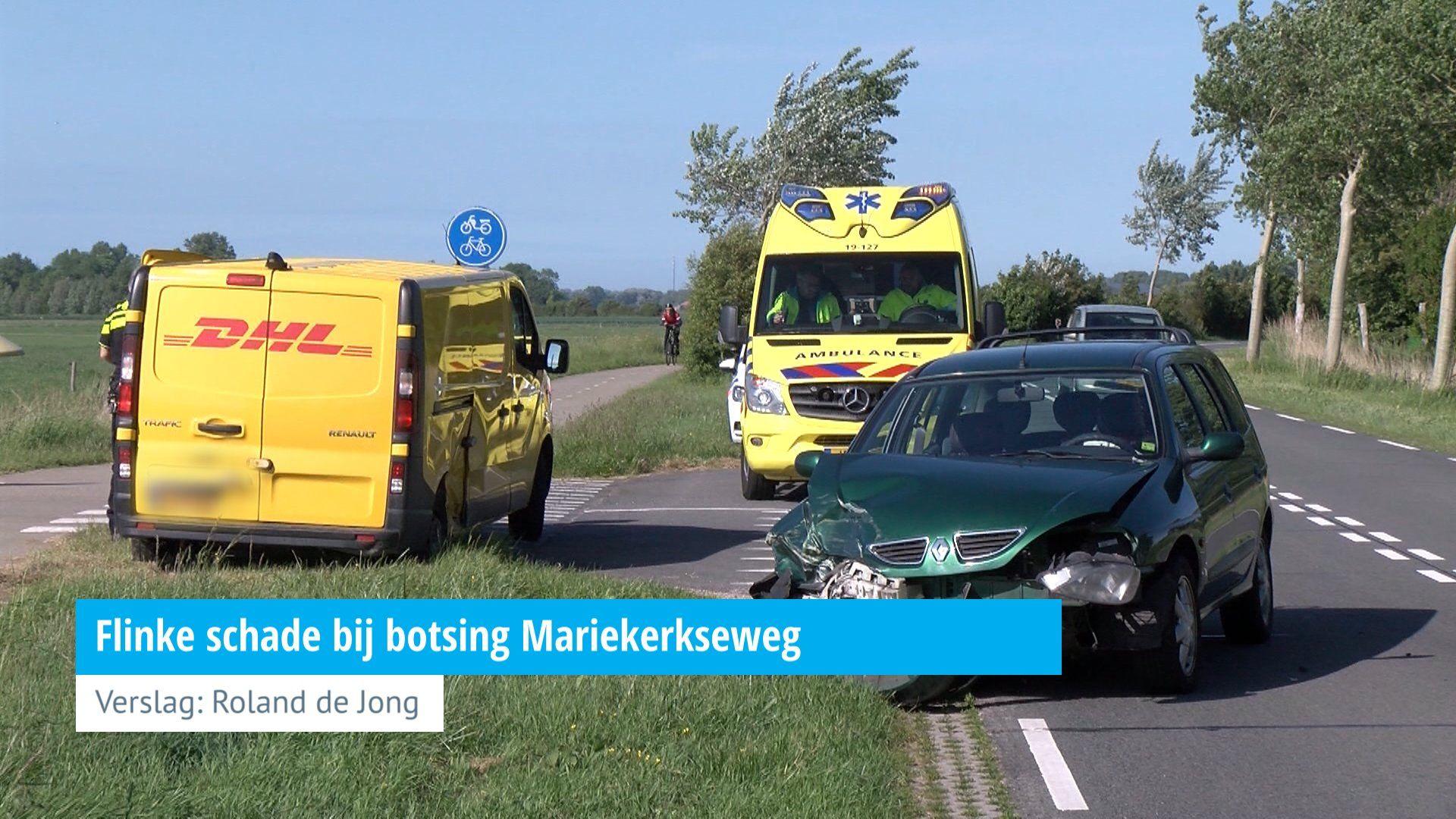 Flinke schade bij botsing Mariekerkseweg - HVZeeland