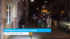 Reddingsteam haalt patiënt uit woning (video)